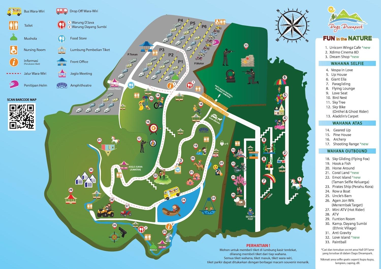 Peta Lokasi Dago Dream Park