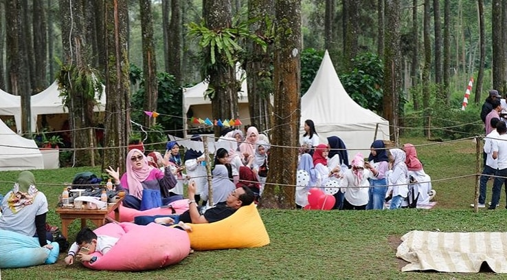 camping ground orchid forest cikole