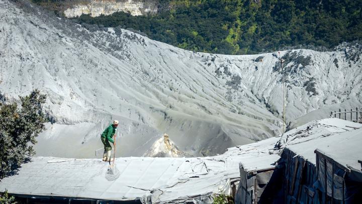 fasilitas gunung tangkuban perahu
