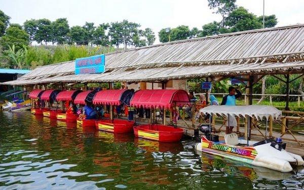 sejarah floating market lembang
