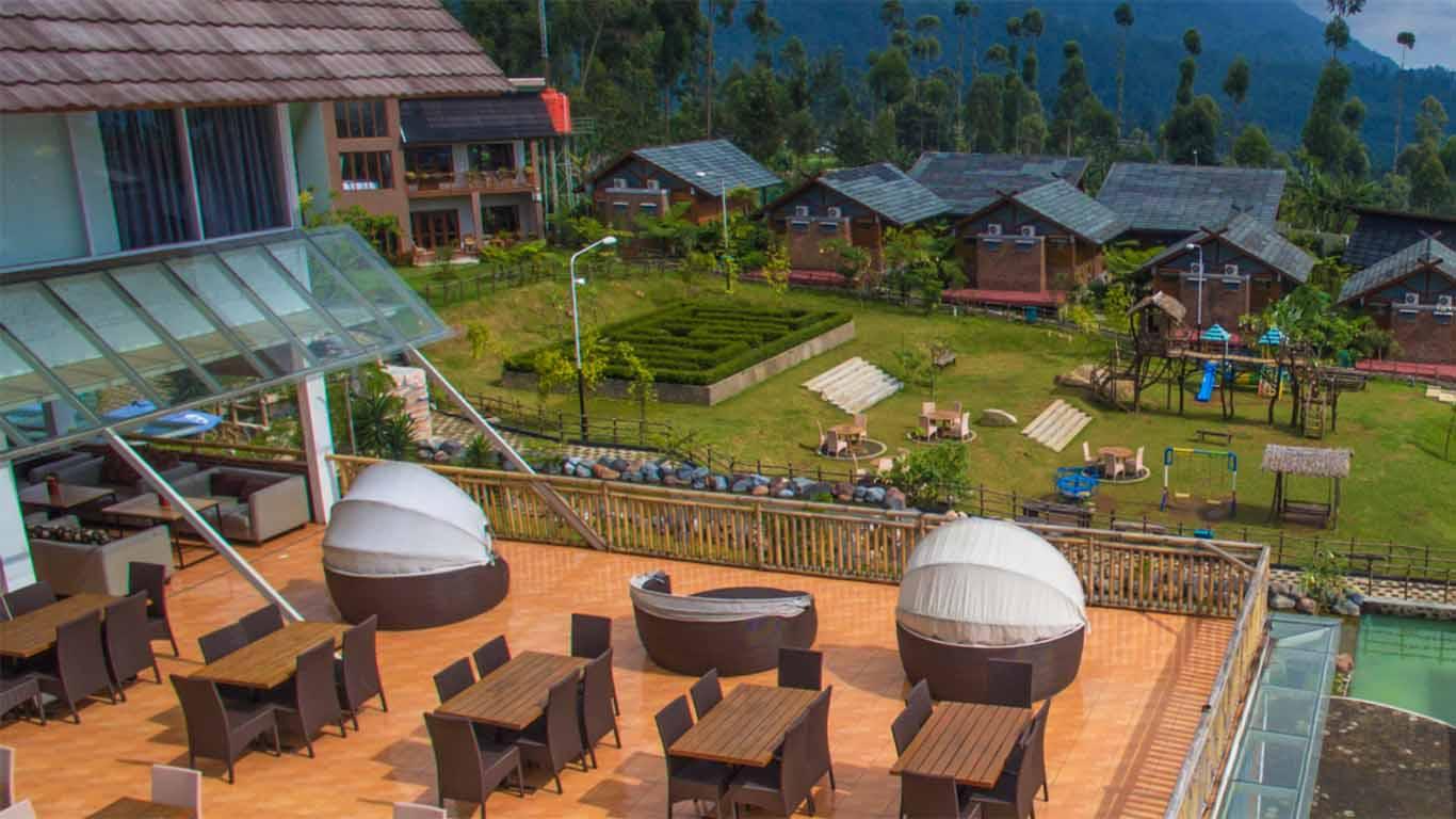camping ciwidey valley resort