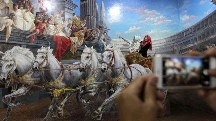 info wisata amazing art world