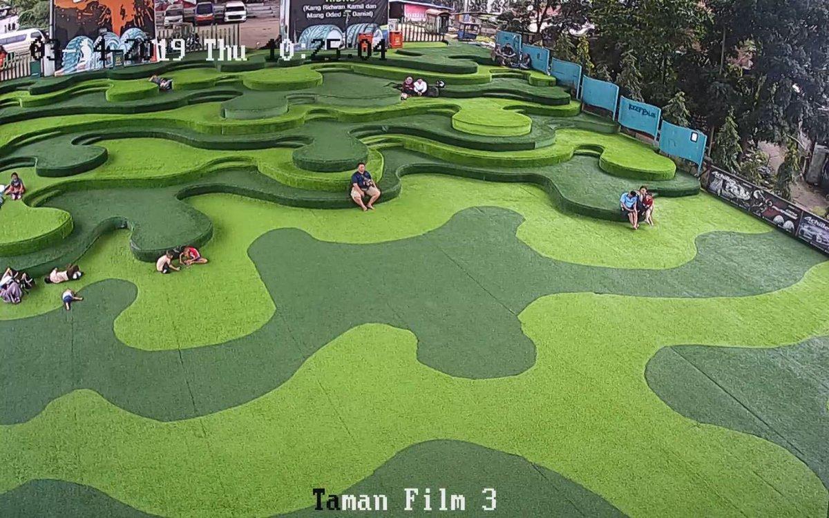 fasilitas Taman film