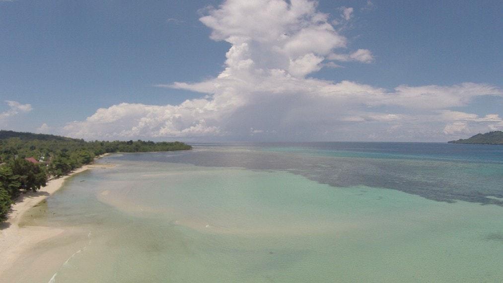 gambar foto pantai sopapei