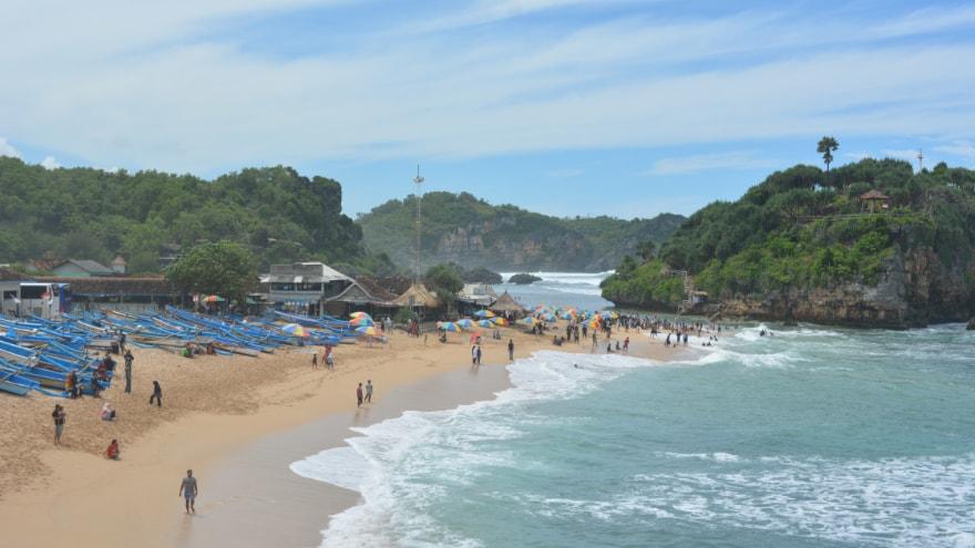 info wisata lengkap pantai drini