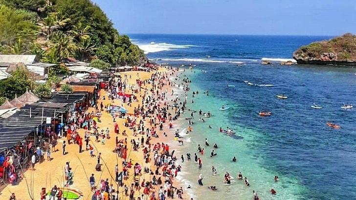 info wisata pantai sadranan lengkap