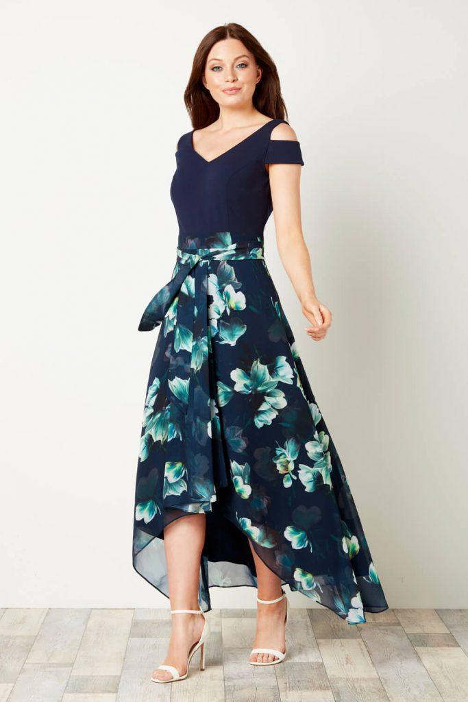 pakaian maxi dress