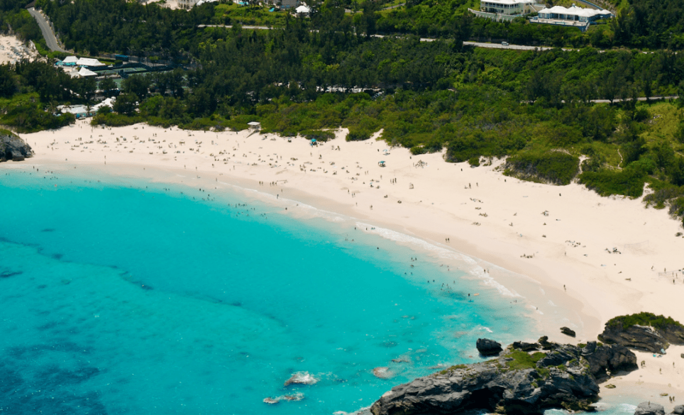 pantai horseshoe terindah di dunia