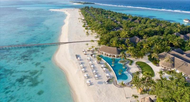 pantai kanahura maladewa terindah di dunia