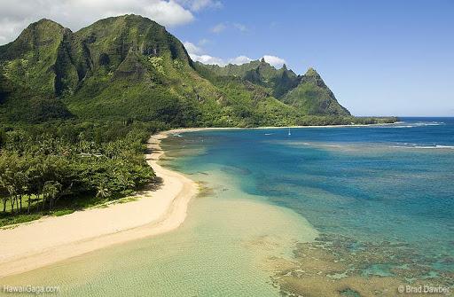 pantai tunnels hawaii terindah di dunia