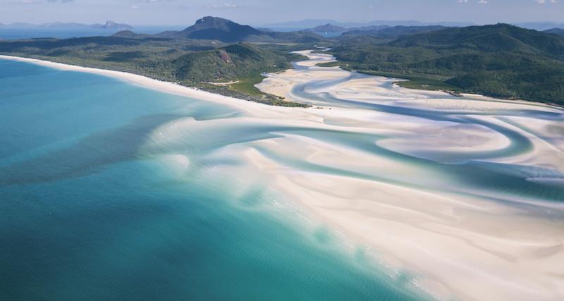 pantai whitehaven terindah di dunia