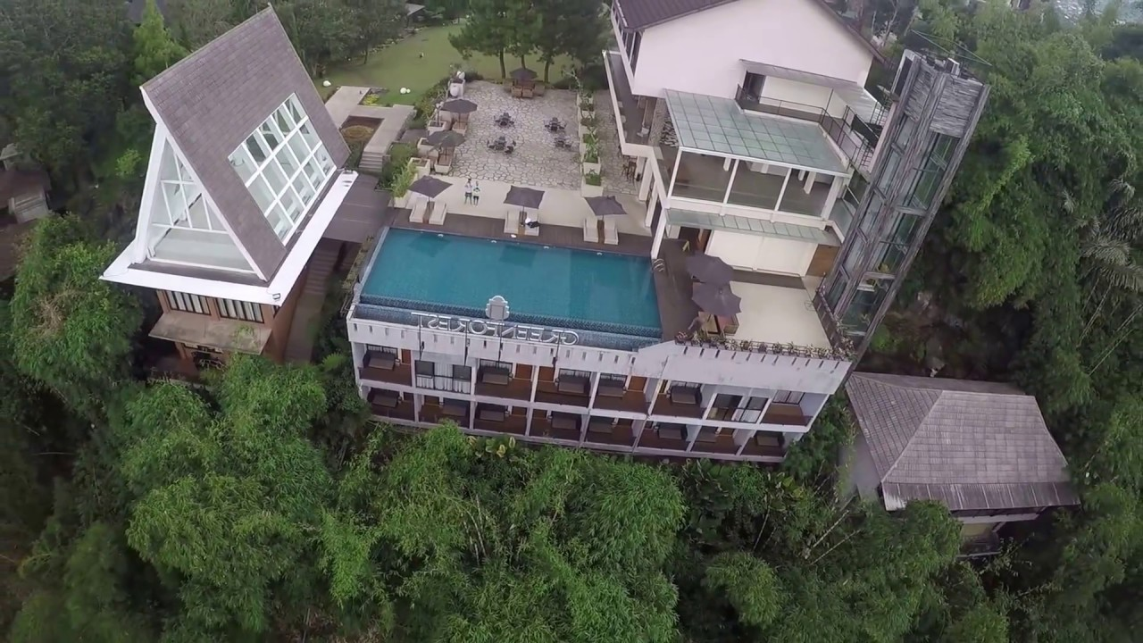 review the green forest lembang