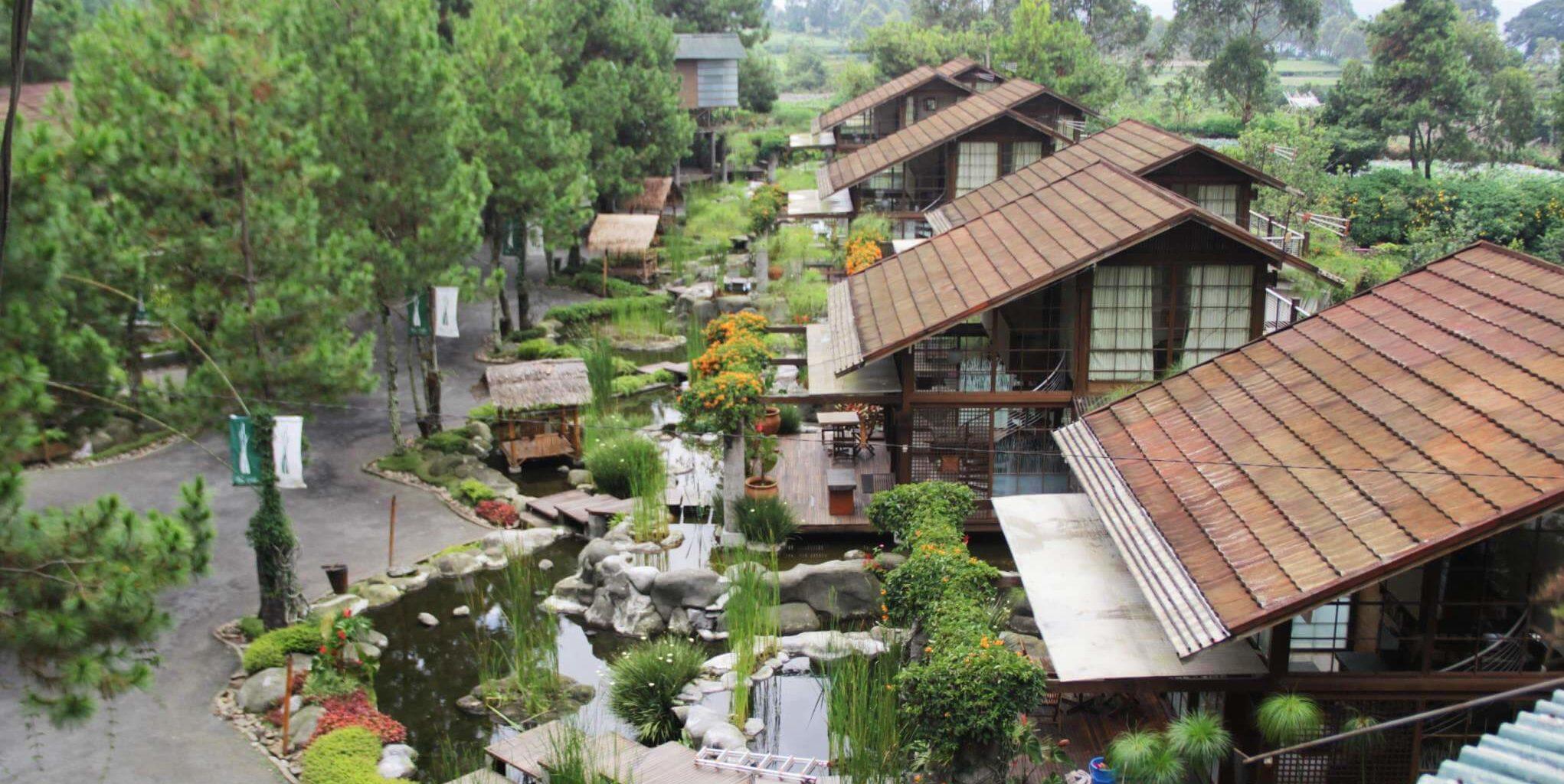 villa air natural resort bandung