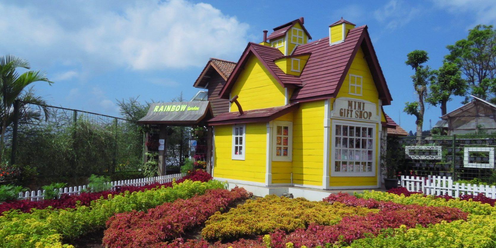 wisata Rainbow Garden Lembang