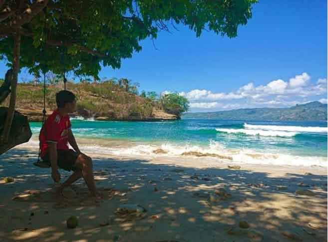 wisata pantai coro tulungagung