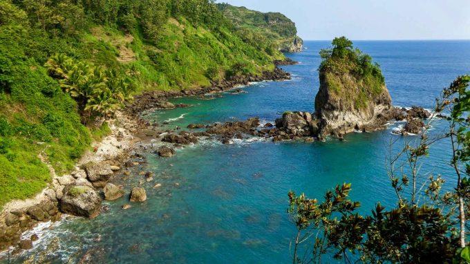 wisata pantai karang agung kebumen