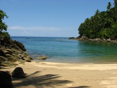 wisata pantai nanseri di maluku