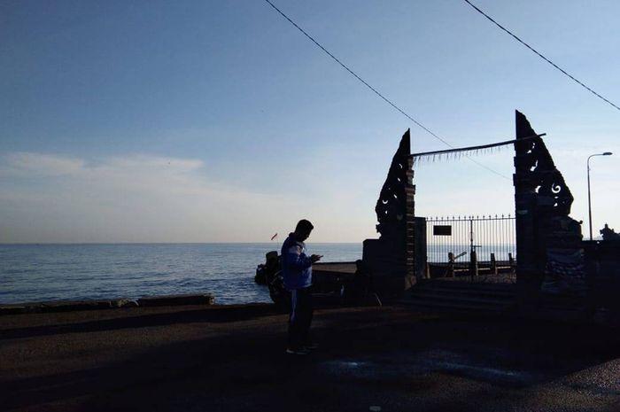 wisata pantai penimbangan buleleng