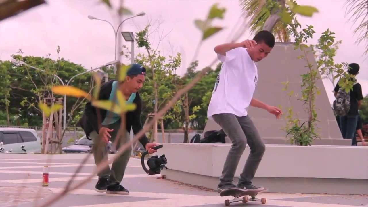 wisata skateboard pantai losari