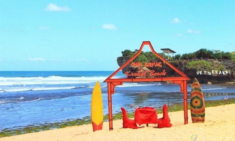 info jam operasional wisata pantai krakal jogja