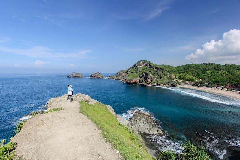 info obyek wisata wisata pantai siung jogja