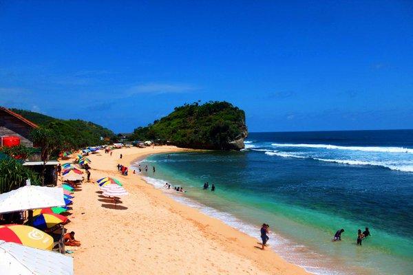 info renang wisata pantai krakal jogja