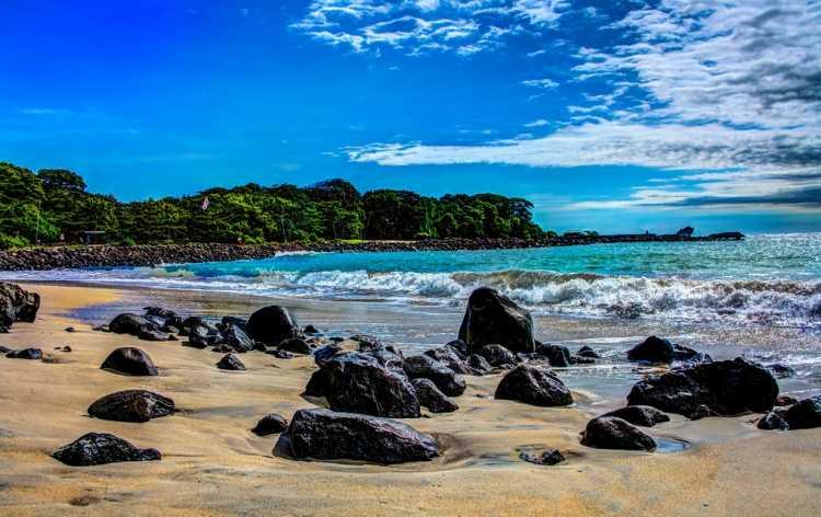 info wisata pantai santolo garut jabar