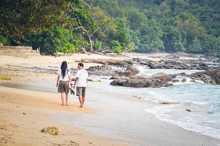 spot foto instagramable pantai wediombo jogja