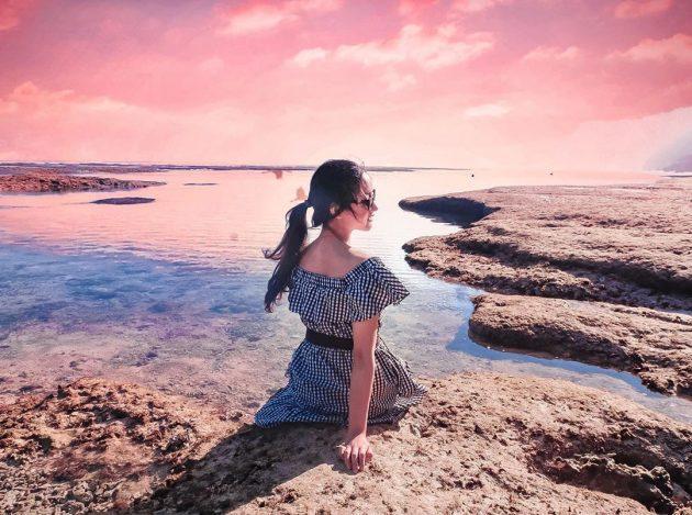 spot foto wisata pantai melasti bali