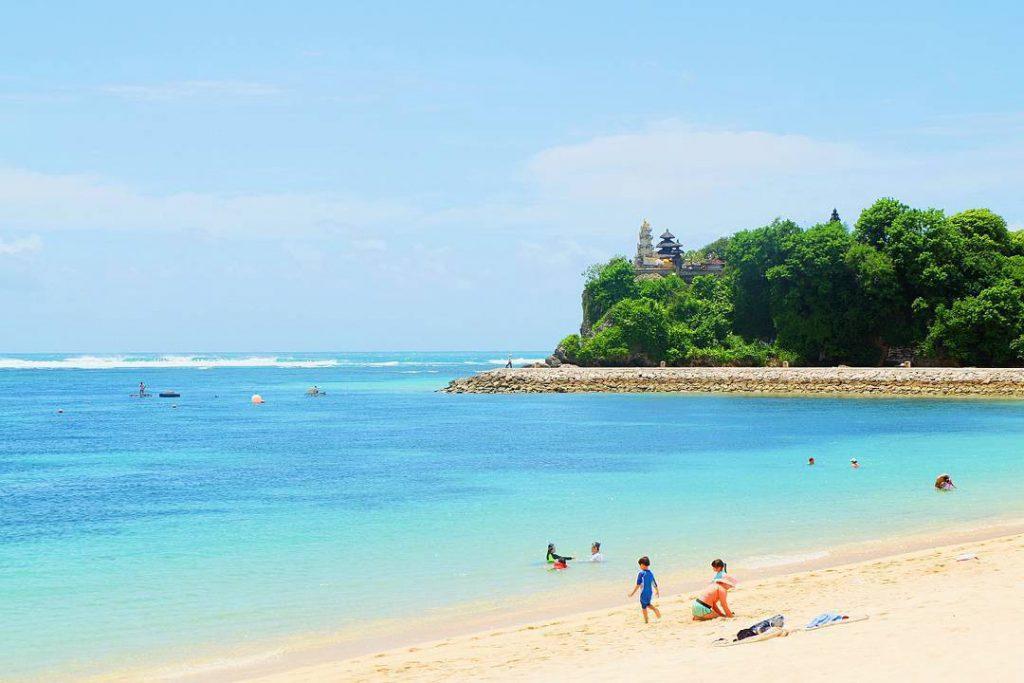 obyek wisata pantai nusa dua