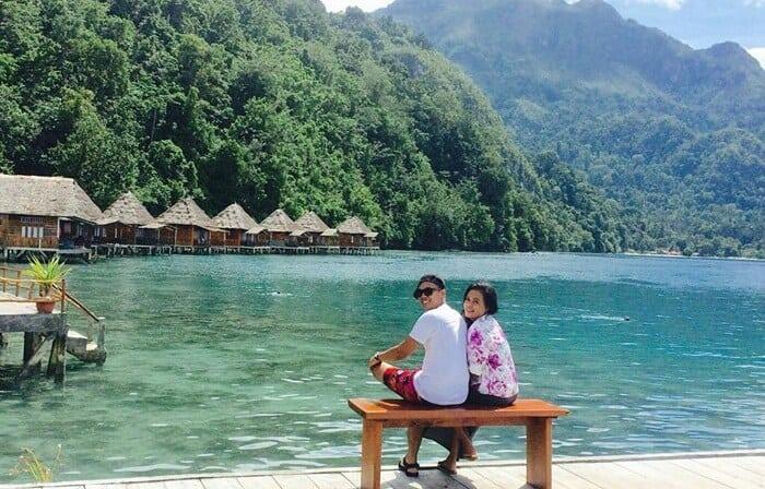 obyek wisata pantai ora maluku honeymoon